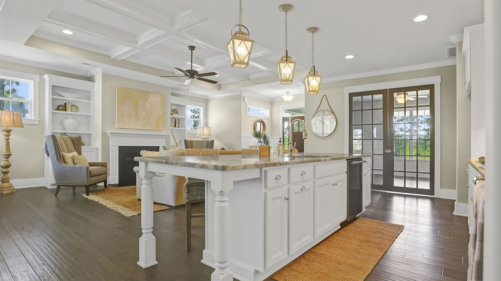 Interior of The Annabelle by Legacy Homes by Bill Clark