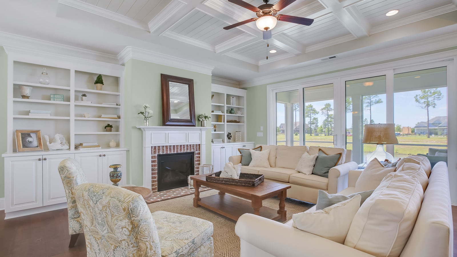 Interior of The McKinley by Legacy Homes by Bill Clark