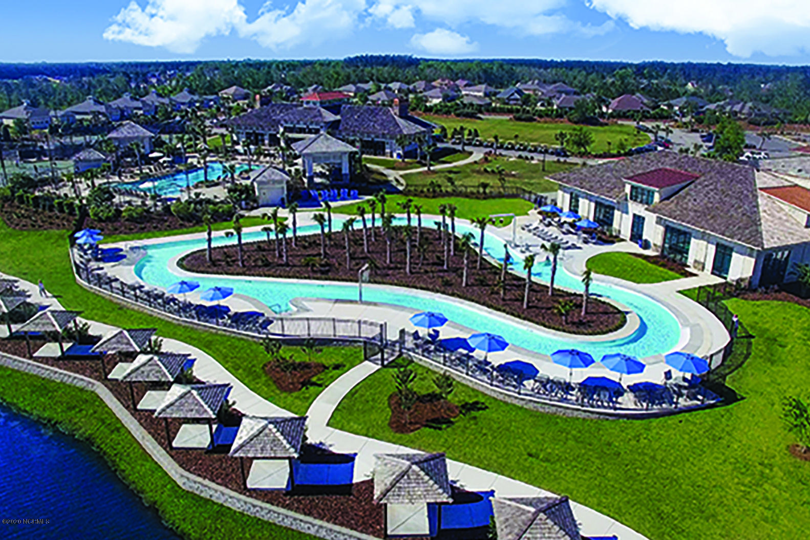 9 Lazy River Aerial