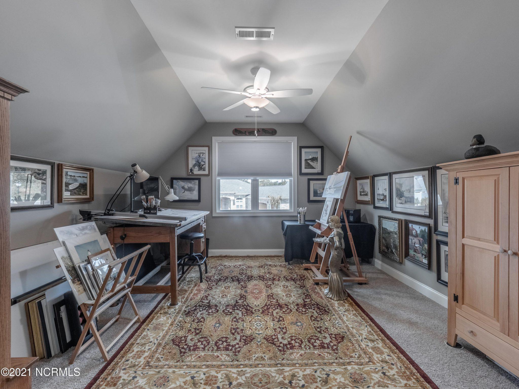 Upstairs flex room
