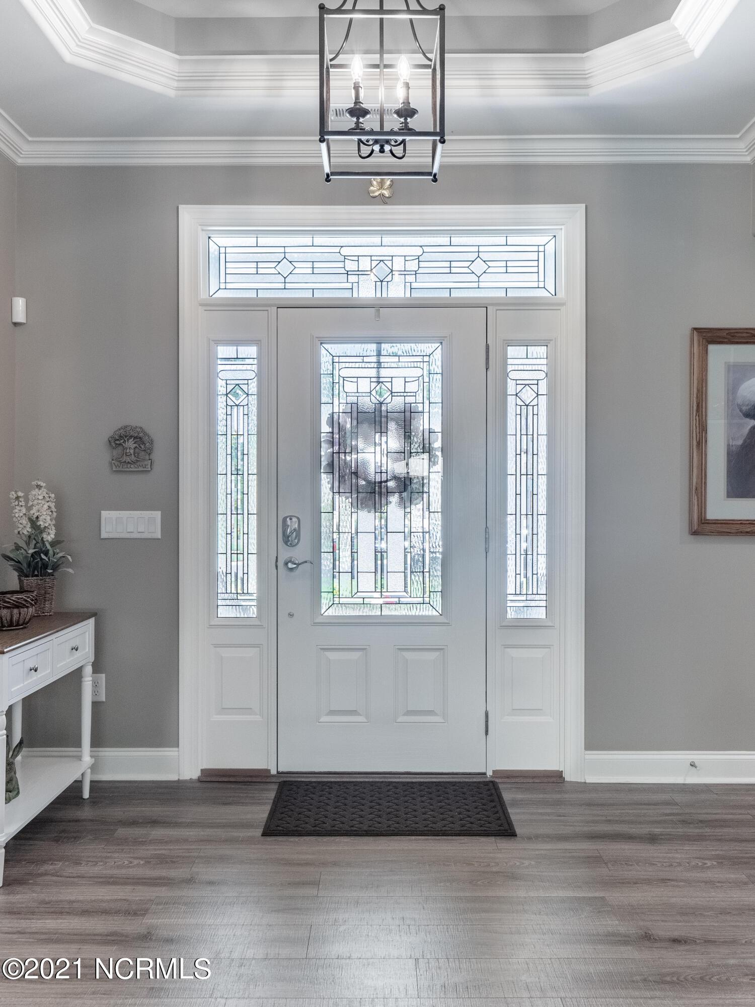 front door inside view