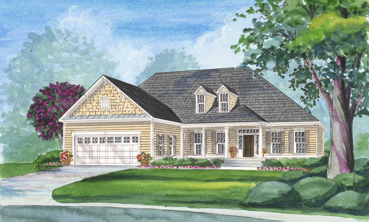 Trusst Builders Floor Plans The Plum Island I Compass