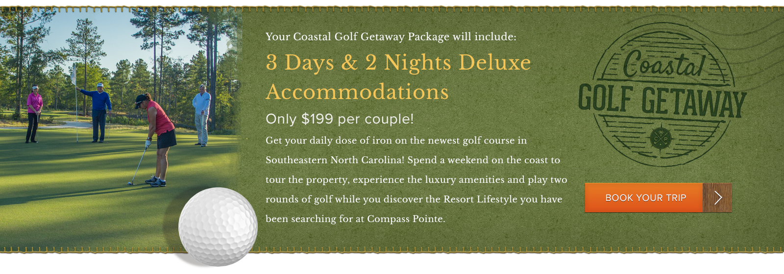 Book your Golf Package