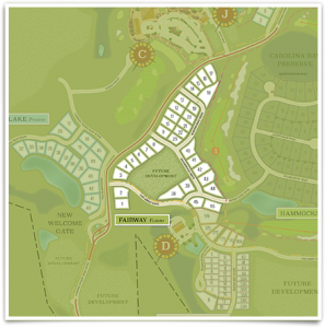 Fairway Estates Map