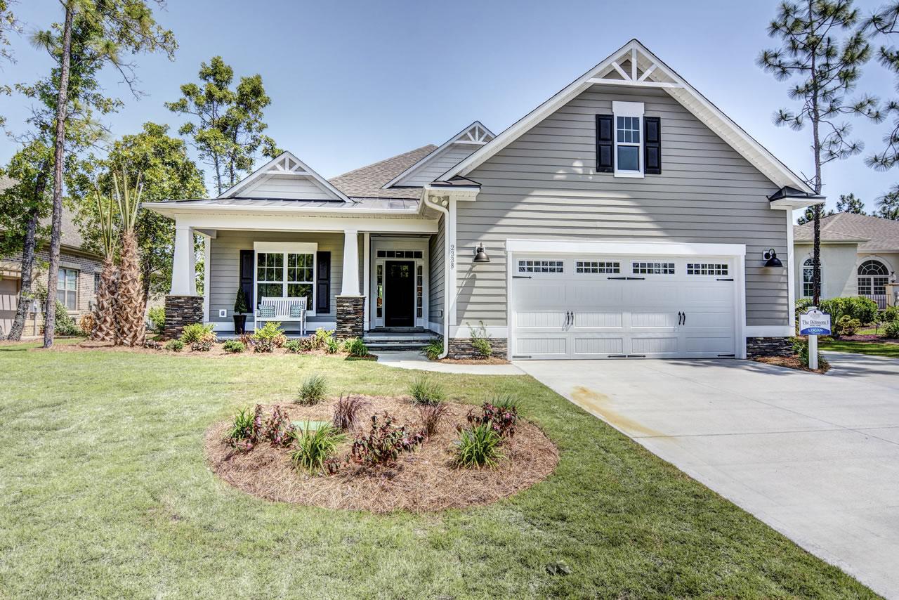 Logan Homes - Biltmore I - Exterior - Front
