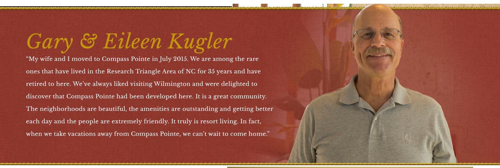 Gary and Eileen Kugler Testimonial